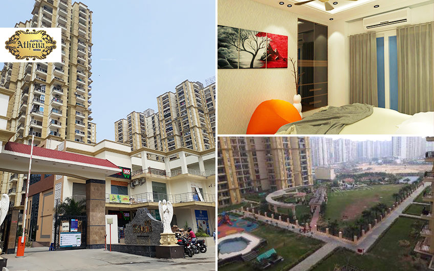 Apex Athena Sector-75, Noida Offers 2/3/4 bedroom flats