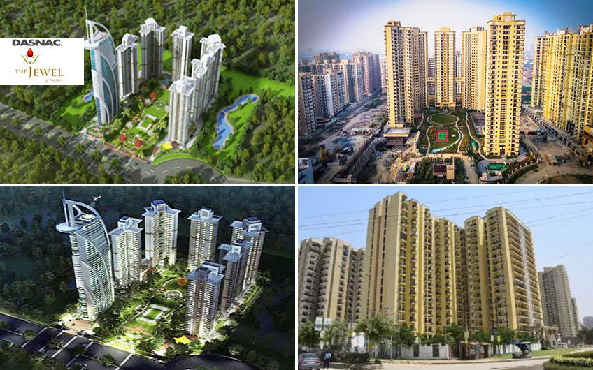 Dasnac The Jwell of Noida 2, 3, 4 BHK Apartments By Dasnac