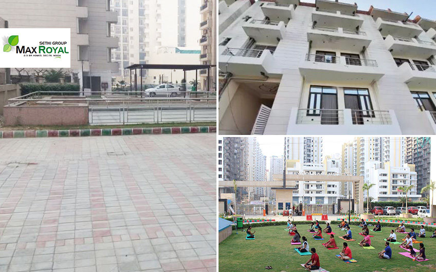 Ready to move 2, 3 BHK at Sethi Max Royal in Sector-76 Noida