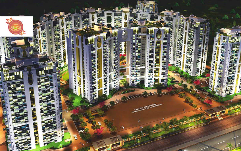 Sikka Kaamna Greens 2/3/4 BHK Apartments by Sikka Group